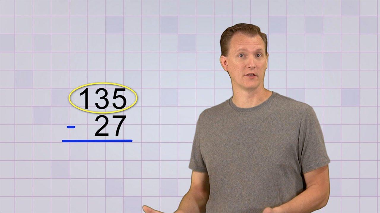 hight resolution of Math Antics - Multi-Digit Subtraction - YouTube