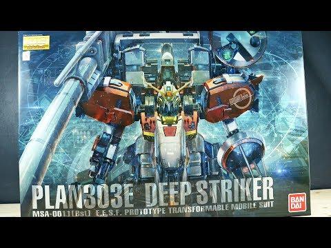 1505 - MG Deep Striker UNBOXING
