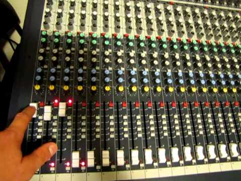 Soundcraft LX7 II 32 and echo audio fire 12