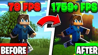 How To DRAMATICALLY Impŗove and Increase Your FPS In Minecraft! (Updated 2021 Tutorial)