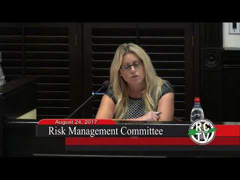 Risk Management Committee - August 24, 2017