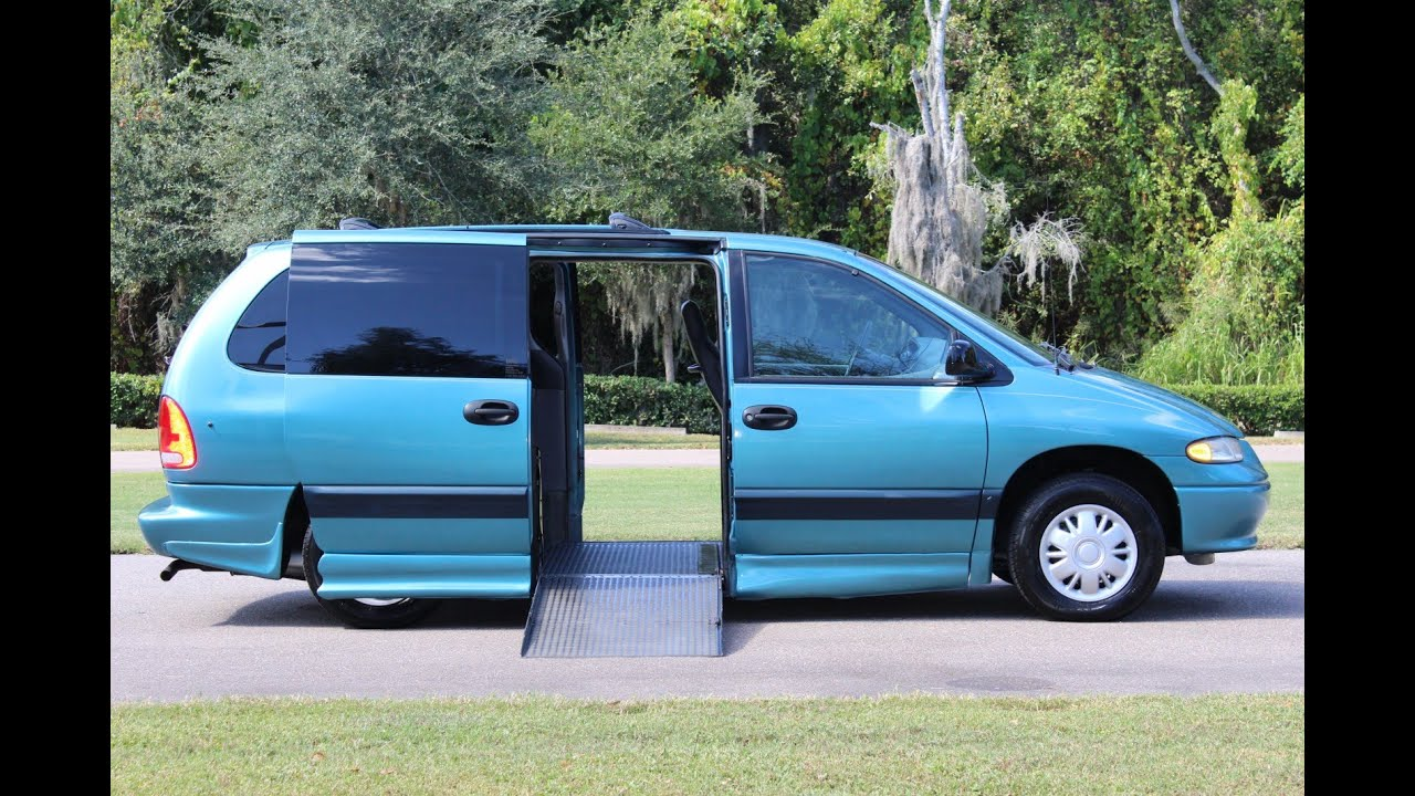 wheelchair van handicap ramp van ims 1996 dodge grand. Black Bedroom Furniture Sets. Home Design Ideas
