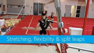 Inspiration » Stretching, active flexibility & split leaps