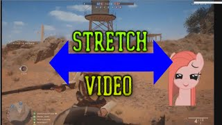 Stretch video to fit 16:9 ratio without cutting video using Vegas