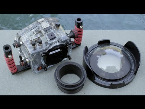 How To Assemble An Ikelite Underwater Housing 1 of 2
