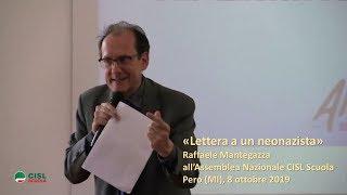 """""""lettera A Un Neonazista"""" Di Raffaele Mantegazza"""