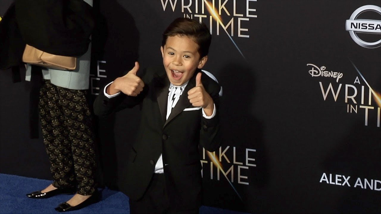 "Deric McCabe ""A Wrinkle in Time"" World Premiere #1"