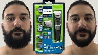 Beard Trimming - Philips Norelco Multigroom 3000 - Model MG3750