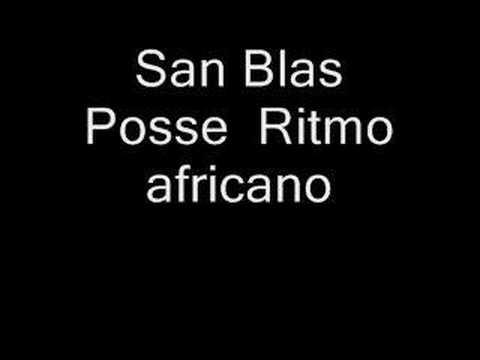 Ritmo africano San Blas Posse