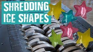 Shredding Ice Shapes - Shredding Stuff