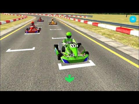 Car Racing Games #GO KART RACING 3D # Car Racing Video Games# Educational Car Games For Kids Boys