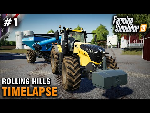 FS19 Timelapse Rolling Hills #1 Rolling In The Challenger