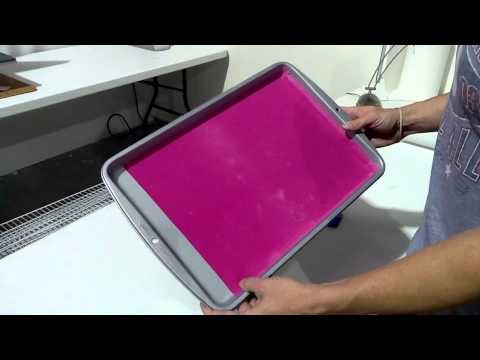 how to make a sticky flock rhinestone workstation on a budget youtube. Black Bedroom Furniture Sets. Home Design Ideas