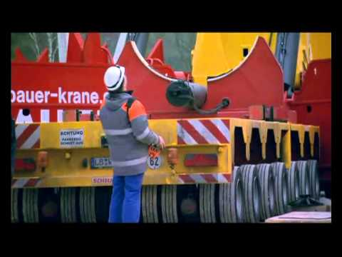 Grove GTK1100 - Probly one of most interesting crane design projects of ...