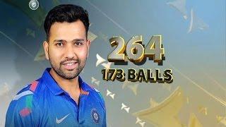 Rohit Sharma 264* Runs Heighlights - India vs Sri Lanka, 4th ODI