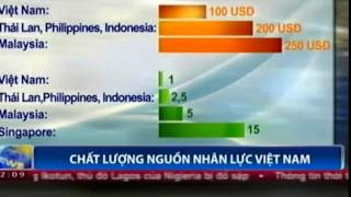 VN-LABOR PRODUCTIVITY-50 YEARS BEHIND SINGAPORE