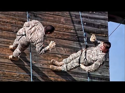 Scenes From U.S. Army Infantry Training