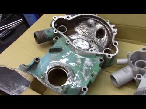 Pontiac 455 Oil Pan and Timing Chain cover Install