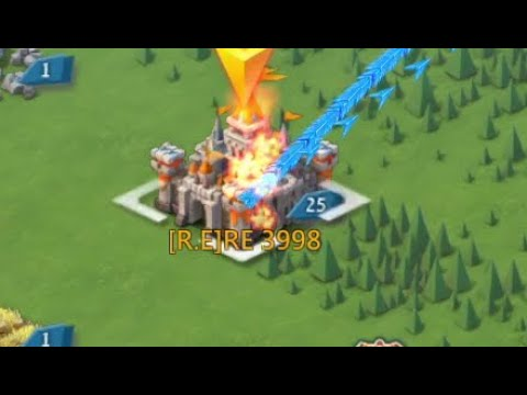 I Lost A Good 400k T4! Lots Of Action! Lords Mobile