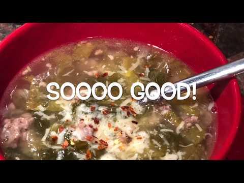 escarole,-sausage-&-bean-soup