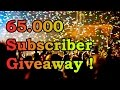 65,000 Subscriber GIVEAWAY ! + Youtube Money ~ ITXtutor [CLOSED]