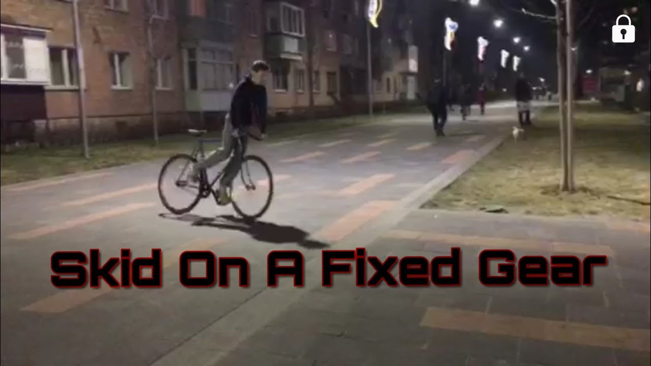 Skid On A Fixed Gear