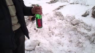 Как разбить бутылку Бжни