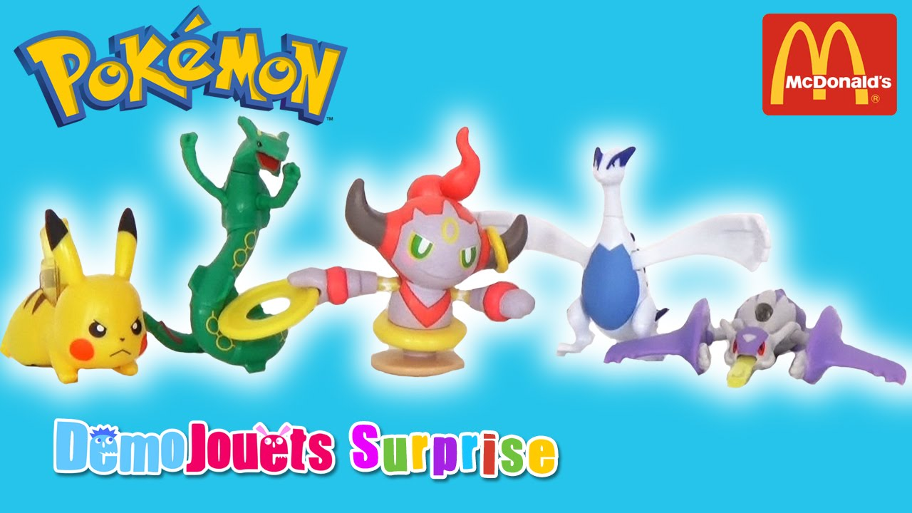 2016 Pokemon Jouets Démo Donald's 5 Juillet Set Mc Surprise kuOTXZiP