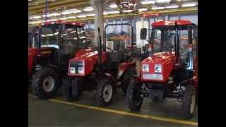Bobruisk plant tractors parts and units - Official video