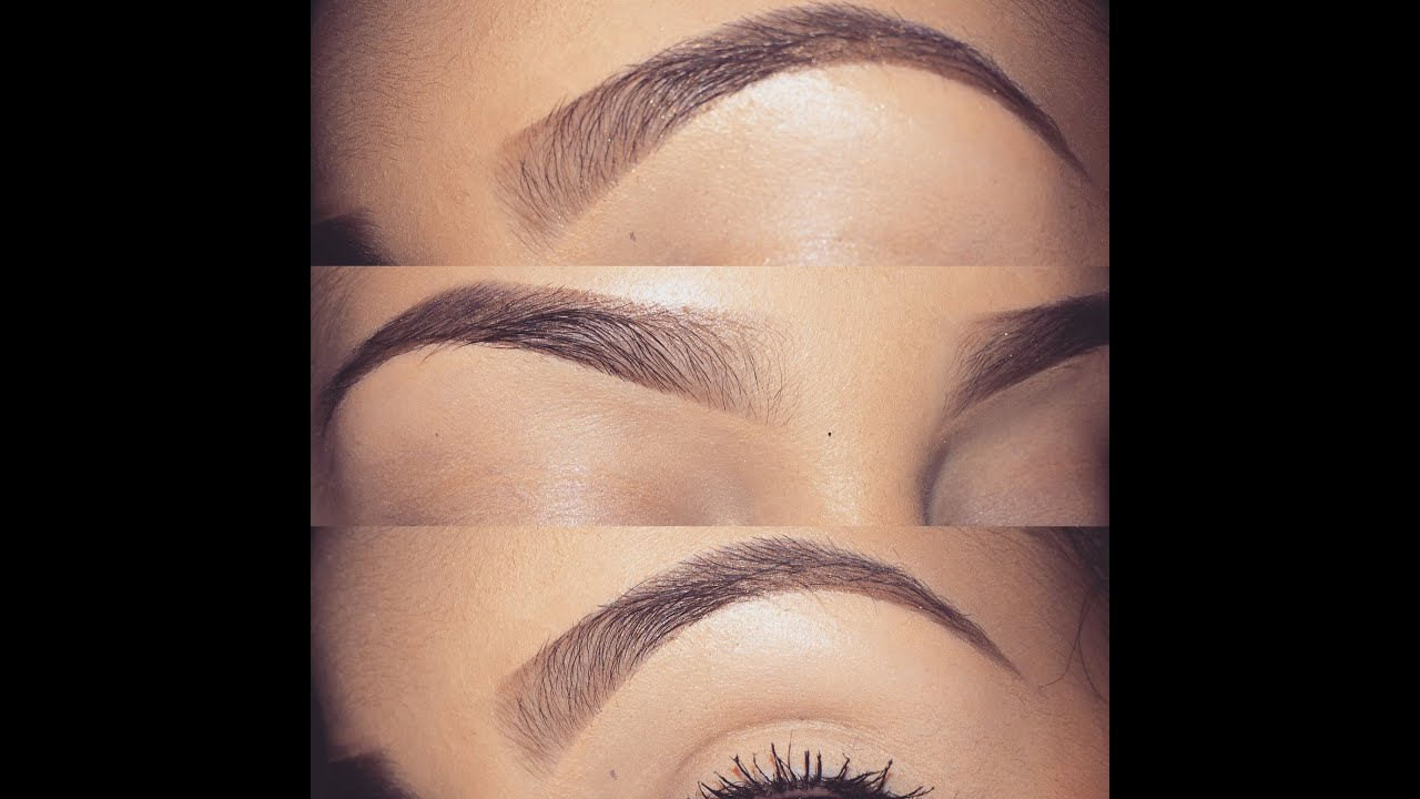 The Perfect Brows (Eyebrow Tutorial) ~ Lani Ivette - YouTube