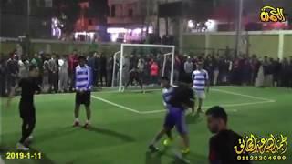 مباراة كرة القدم بين فريق الشيخ جبيل وفريق ايطاليا ابوالاخضر تحت رعاية ال رحال 11-1-2019