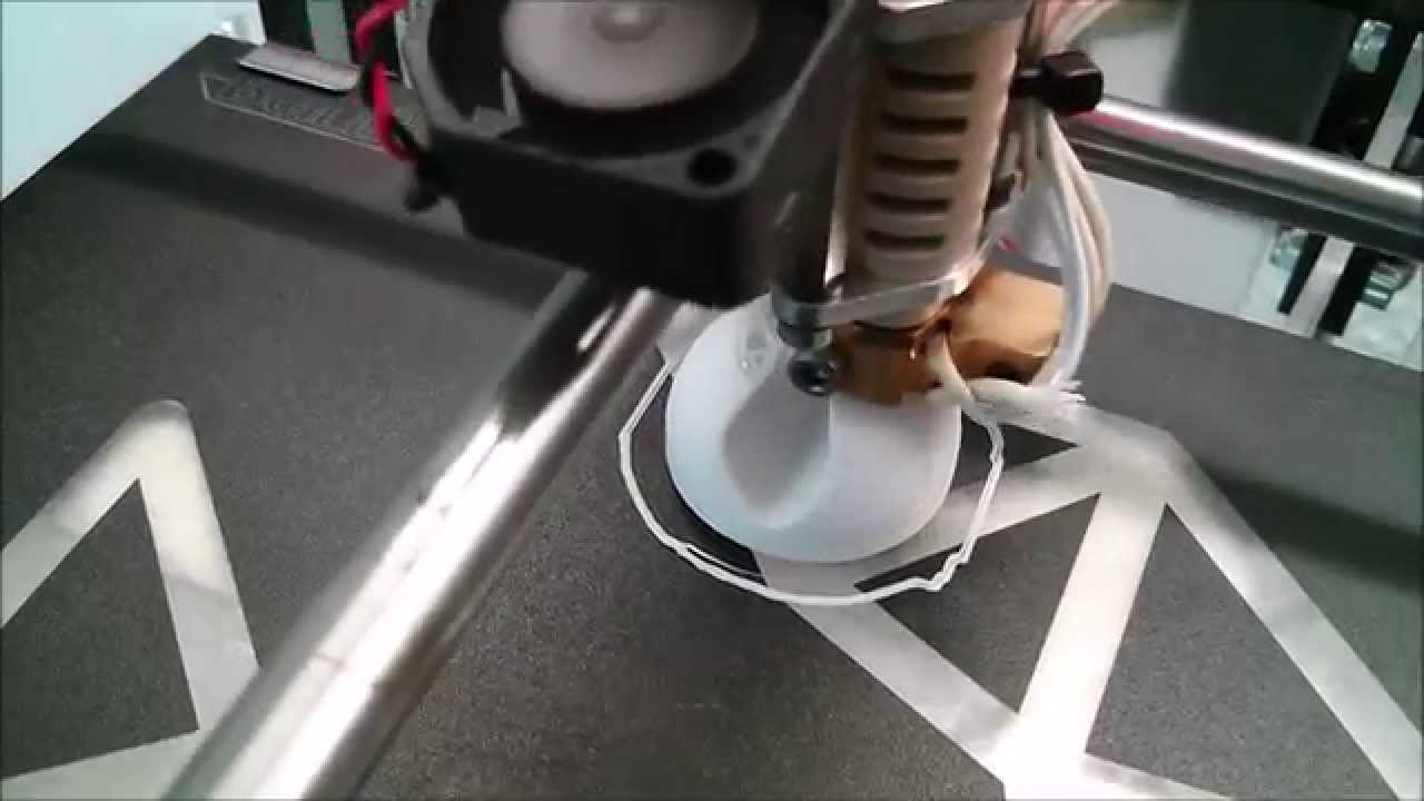 Kabelhalterung aus dem 3D-Drucker - YouTube