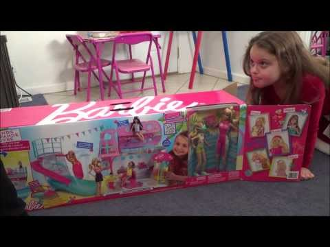 "Thumbnail: BARBIE® Sisters' Cruise Ship ""Unboxing, Setup & Play"" 5 Stars *****"
