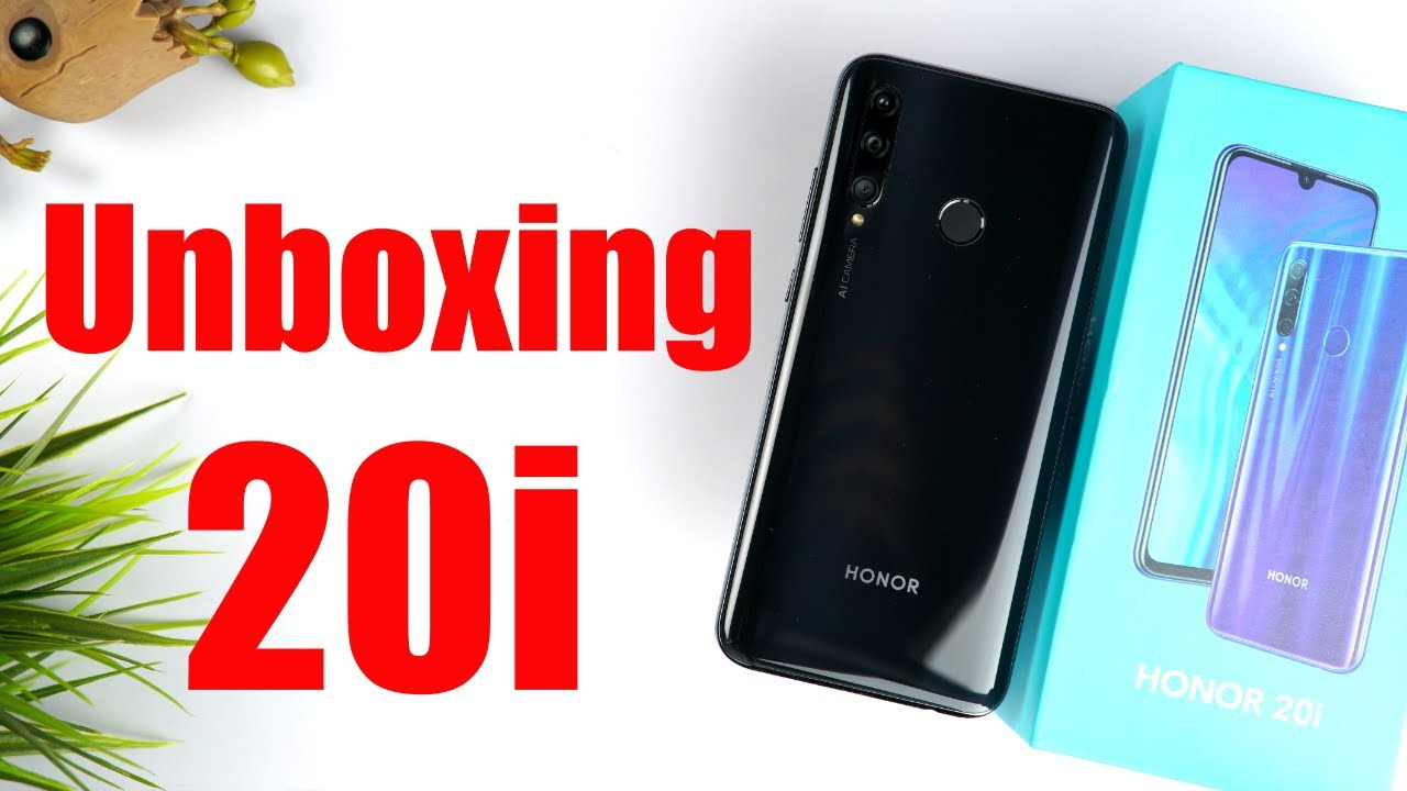 Honor 20i Detailed Unboxing and Review