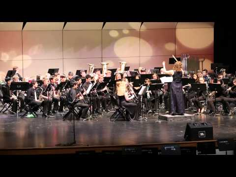 Henry M Jackson High School Winter Concert 2014 - Symphonic Band - 80's Flashback