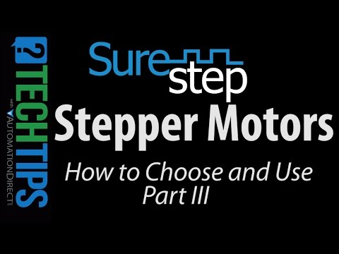 SureStep Stepper Motors - How to Choose and Use (Part III)
