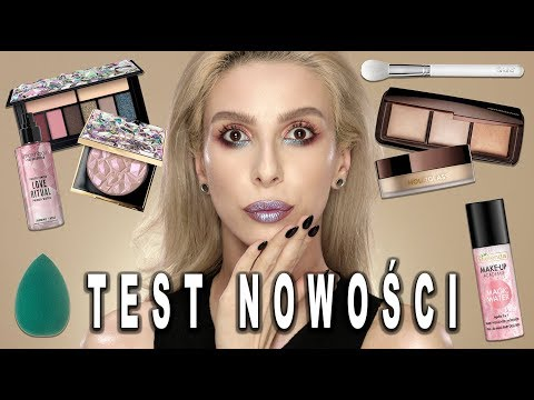 TEST NOWOŚCI ???? HULU BRUSHES, IUNO, HOURGLASS, SMASHBOX, BIELENDA | The Glam Devil