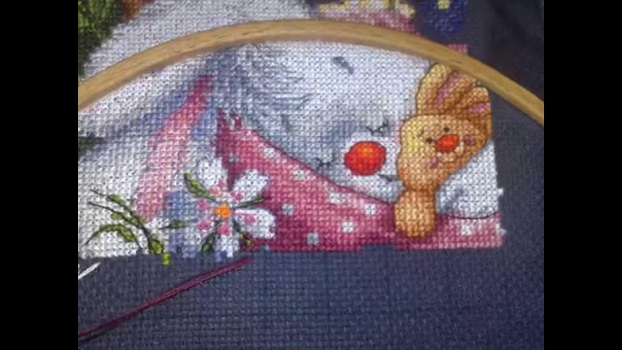 Схема вышивки спи моя радость