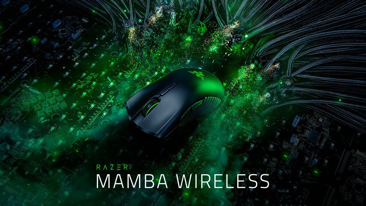 Razer Mamba Wireless | Untethered  Unleashed  Unstoppable