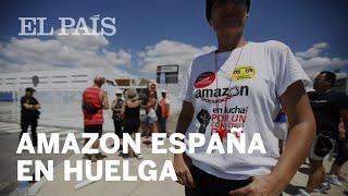 Los trabajadores de AMAZON ESPAÑA alzan la voz por sus condiciones laborales | Economía