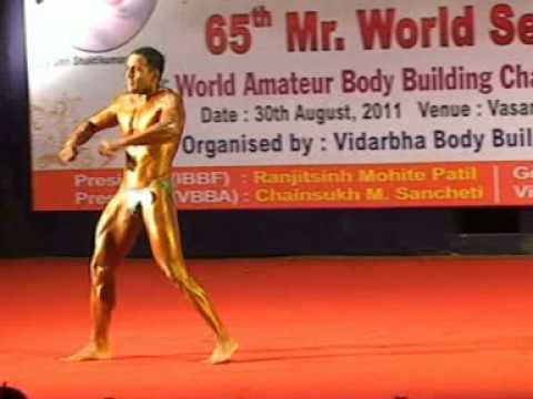 Kishan Tiwari 65th Mr.World Selection Trial Nagpur