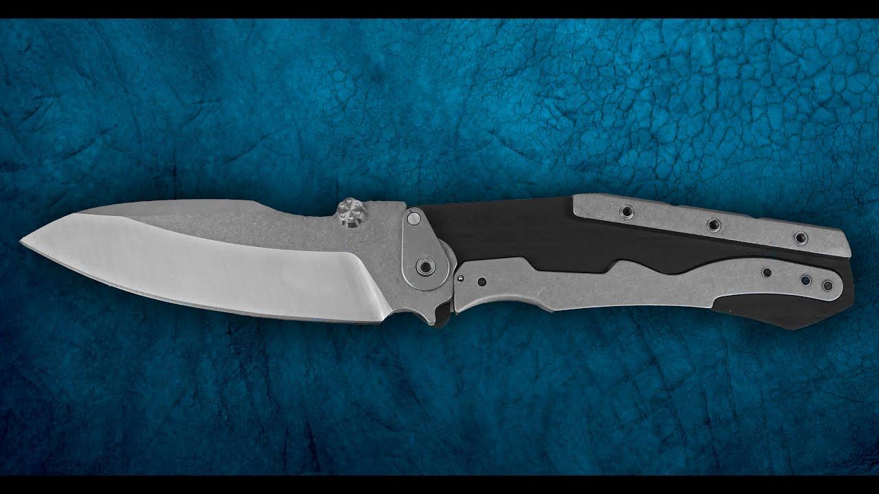Техничный нож из Китая! Реплика ножа ZT0850 с Aliexpress.