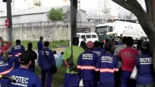 Trabalhadores terceirizados na Air Products encerram greve com conquistas