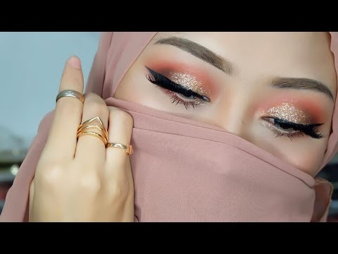 Eye makeup tutorial using juvias pallete
