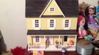 My Antique Dollhouse Tour !