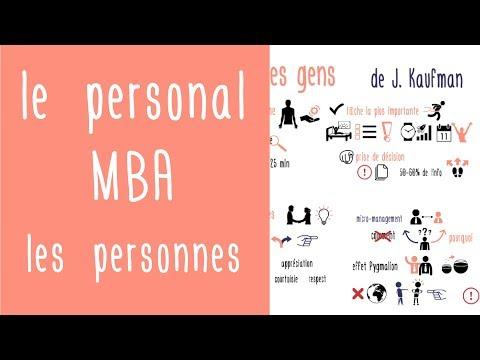 Bien travailler avec soi-même et les autres : Le personal MBA de J. Kaufman