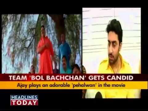 Bol Bachchan star cast gets candid-1