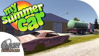 MSC UPDATE Hauling Junk Cars from Barns for Stacks of CASH - My Summer Car Gameplay Highlights Ep 17