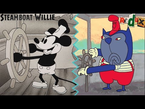 Disney's Steamboat Willie Redux By Joel Turssel | 2018 Full Color Animated Short