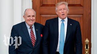 Giuliani says Trump reimbursed Cohen for Stormy Daniels payment